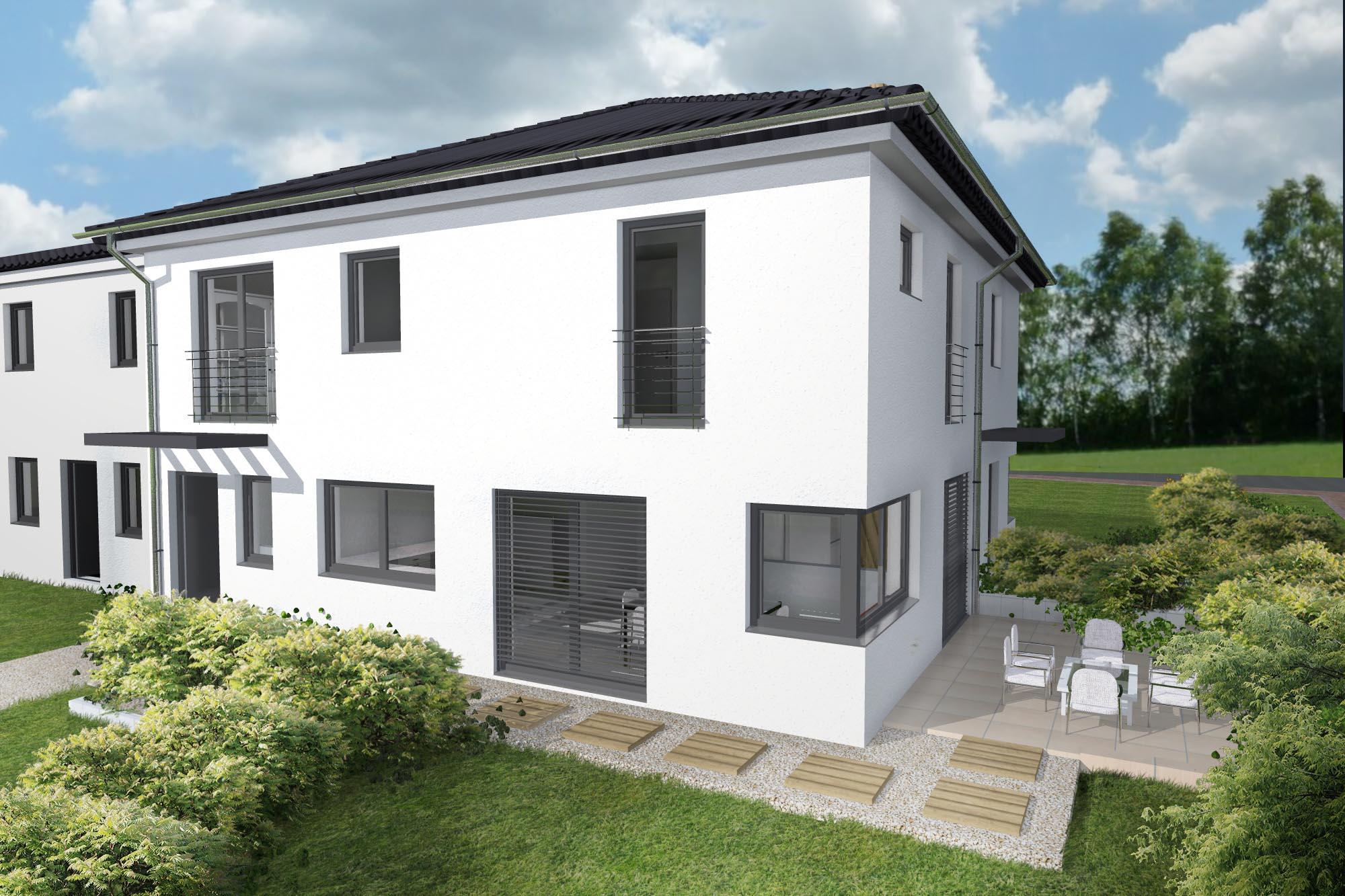 Ein Musterhaus der Isar-Haus GmbH München